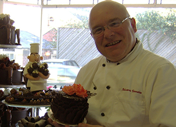 Especially for you image of Trevor and handcrafted cakes