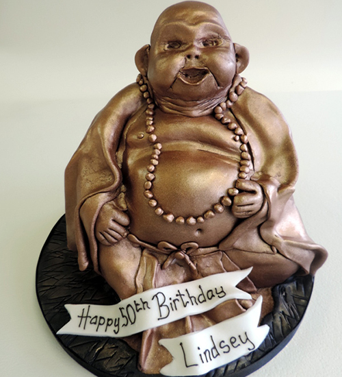 Adult novelty celebration cake