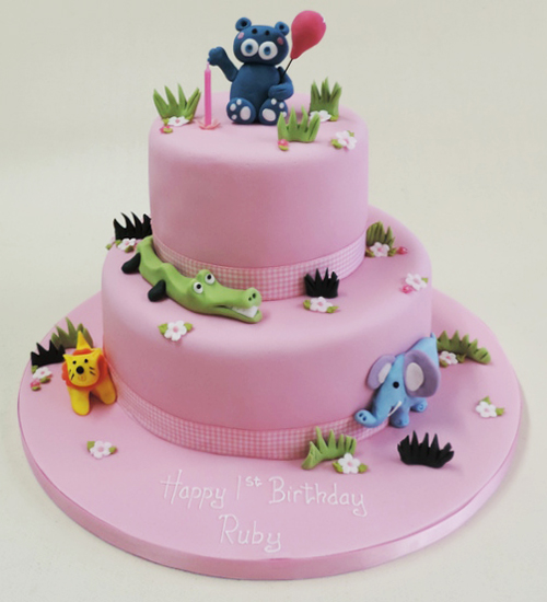 Childrens novelty celebration cake